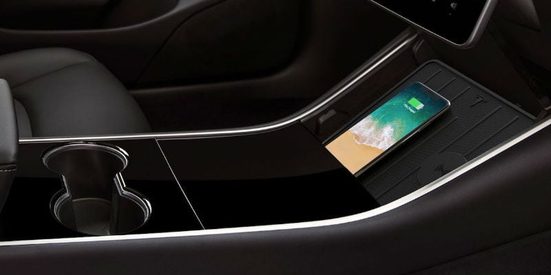 Tesla Wireless Charging Pad