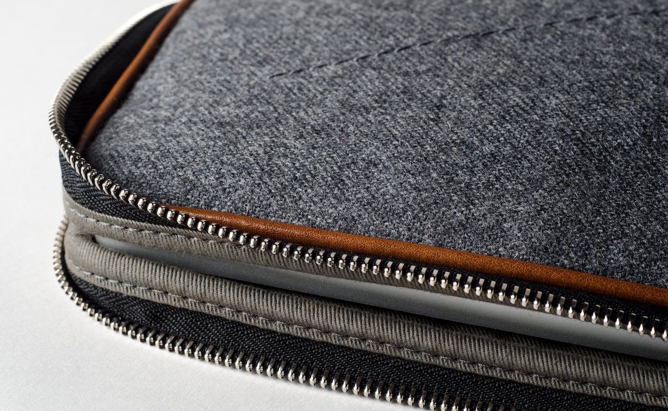 hardgraft Zip Up Folio Wool MacBook Pro Portfolio
