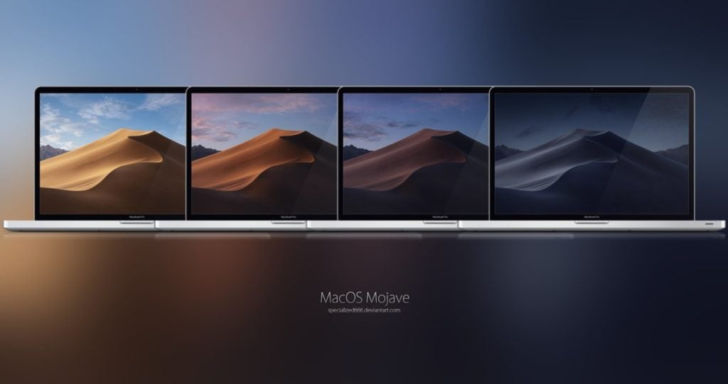 MacOS Mojave Wallpaper / Image Credits: specialized666 on deviantart