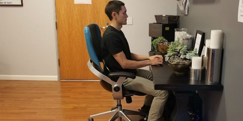 Sit-In-Motion Technology Ergonomic Chair