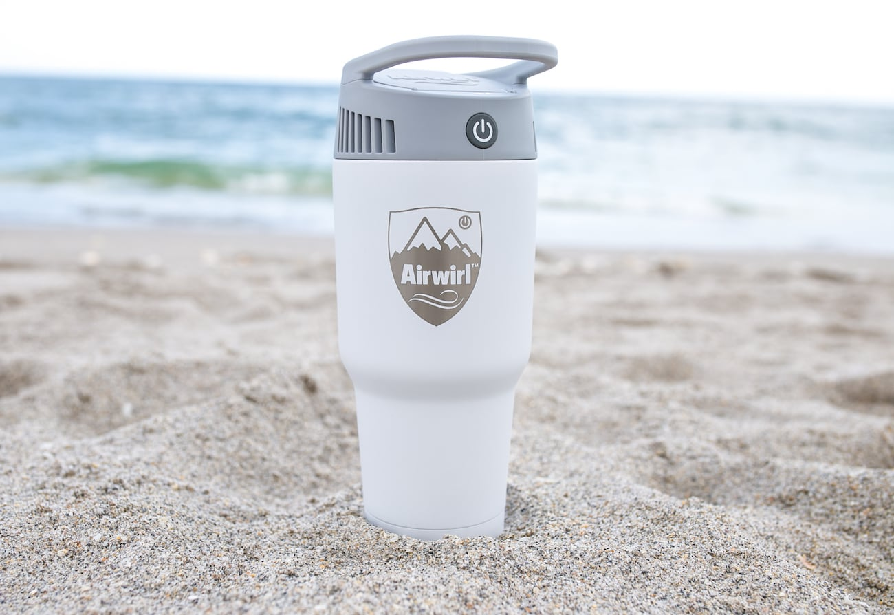 Airwirl Personal Cooling and Heating System