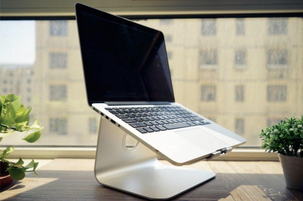 Aluminum+Alloy+Elevated+MacBook+Stand