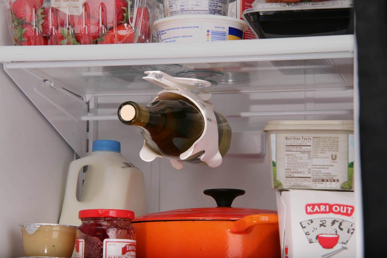 BevStow Refrigerator Wine Holder