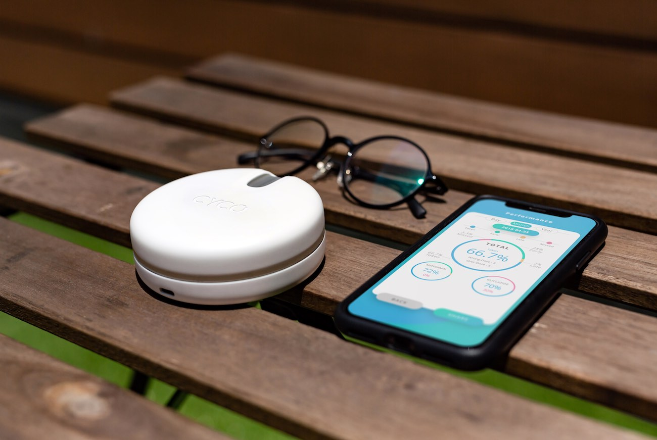 CYCO Smart Dual Sensor Pillbox