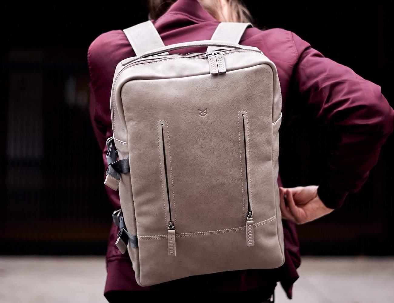 Capra Leather Tamarao Handmade Leather Backpack