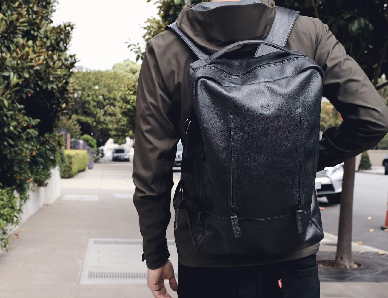 Capra Leather Tamarao Handmade Leather Backpack
