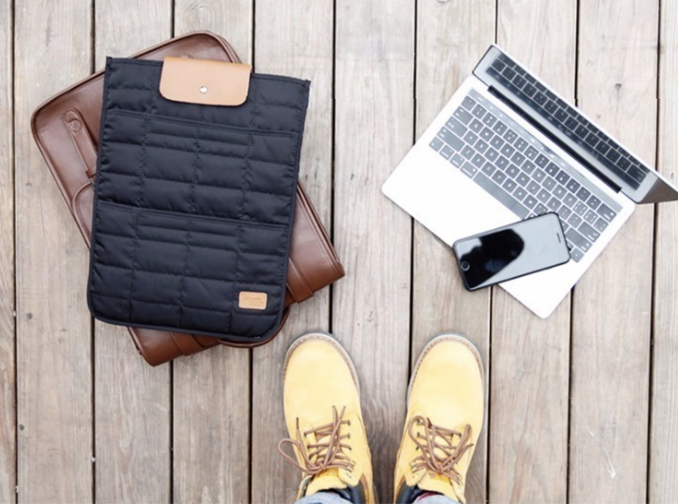 Compact MacBook Handbag