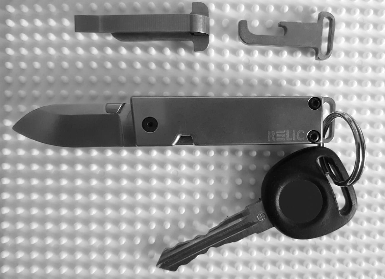 EWC Mini Interchangeable Pocket Knife