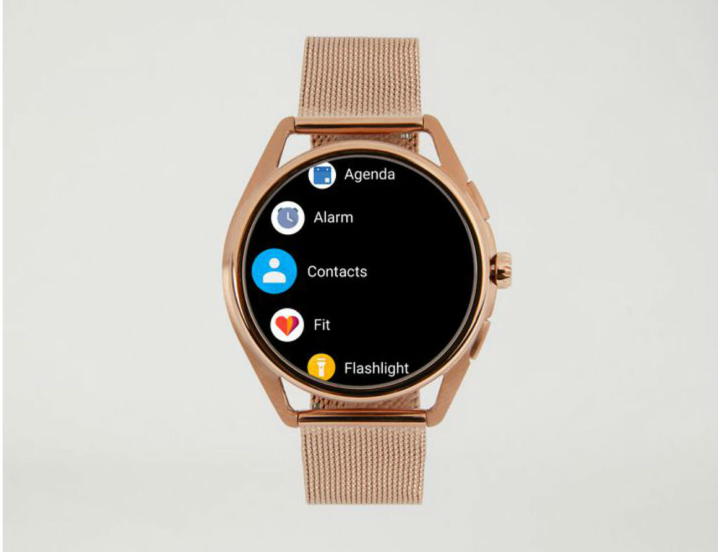 Emporio+Armani+Stainless+Steel+Touchscreen+Smartwatch