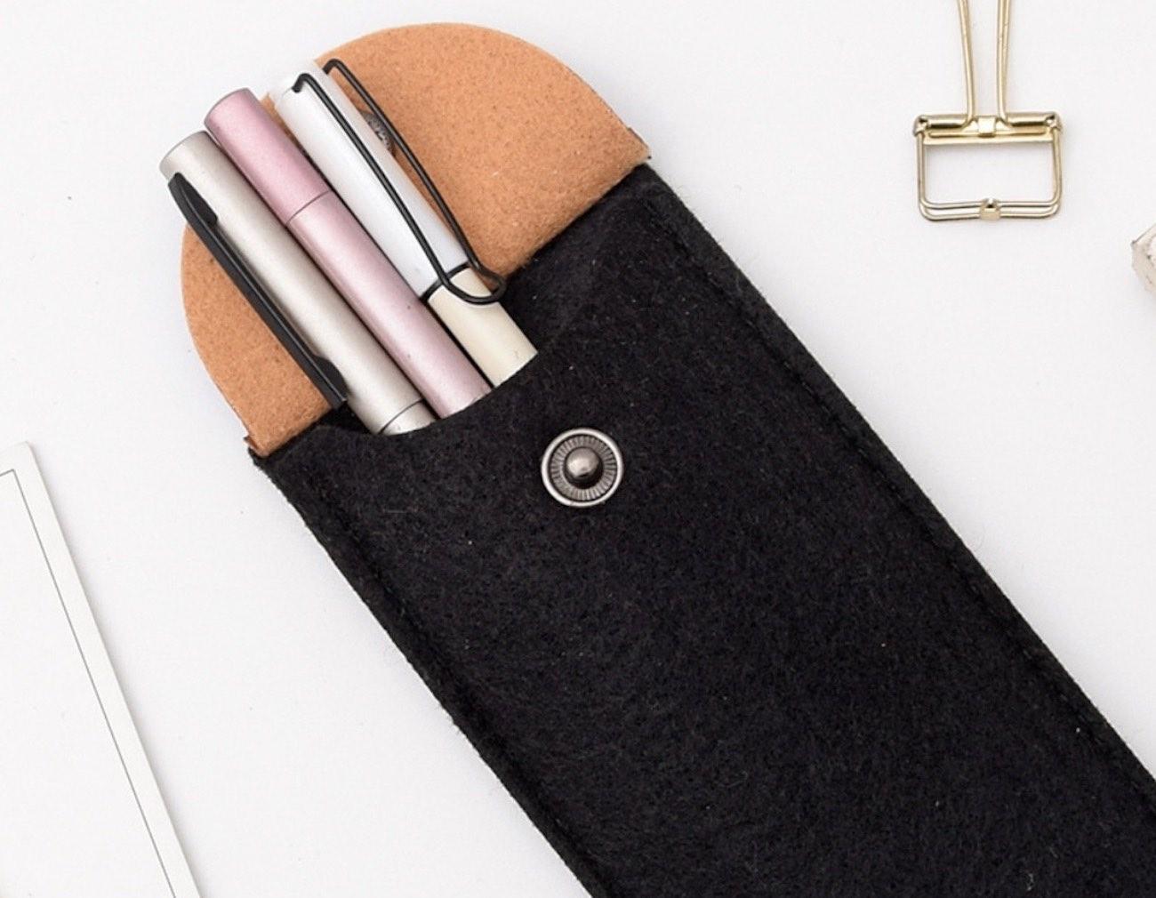 Everyday Carry Felt Pencil Case