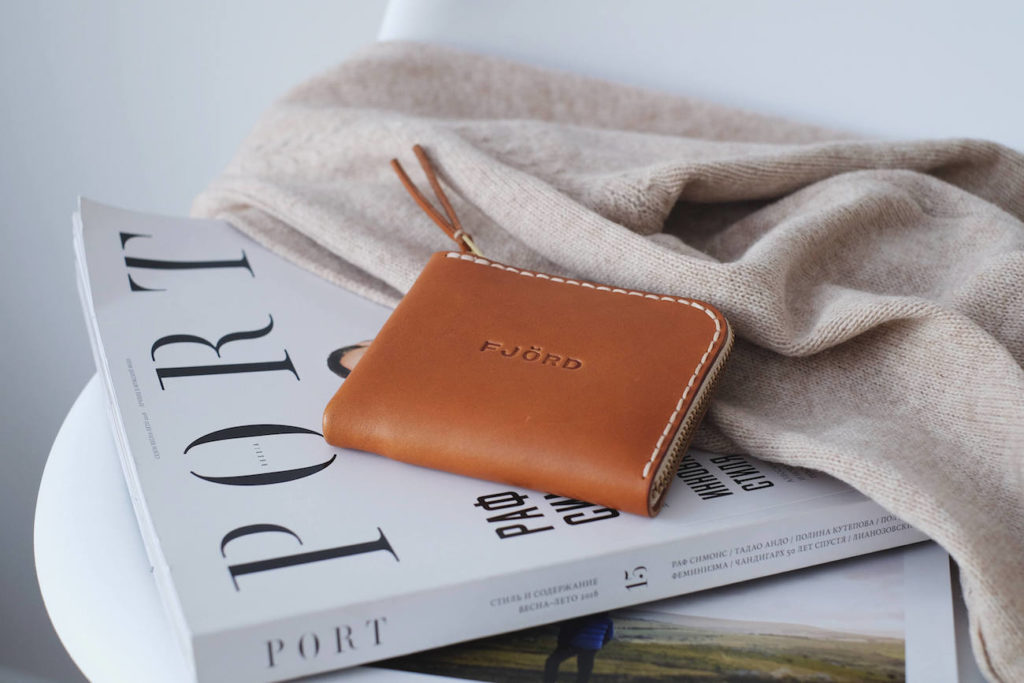 FjordProject+Classic+Leather+Zipper+Wallet