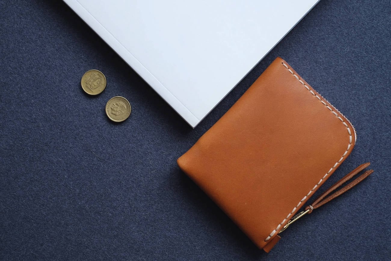 FjordProject Classic Leather Zipper Wallet