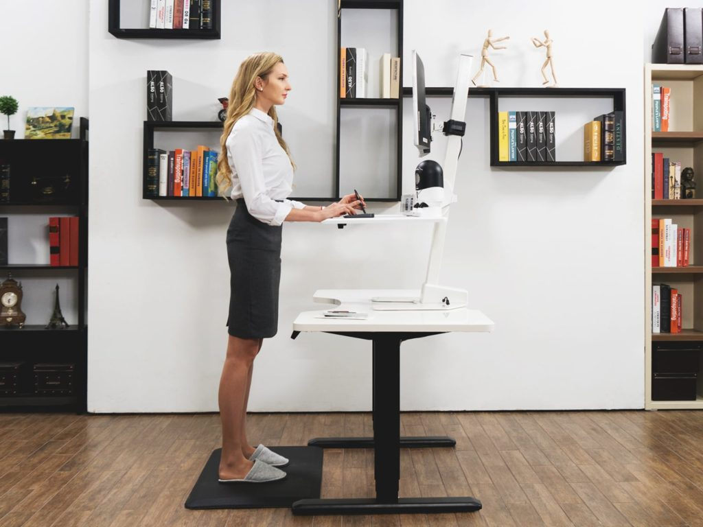 GAZEDESK+Flexible+Standing+Workstation
