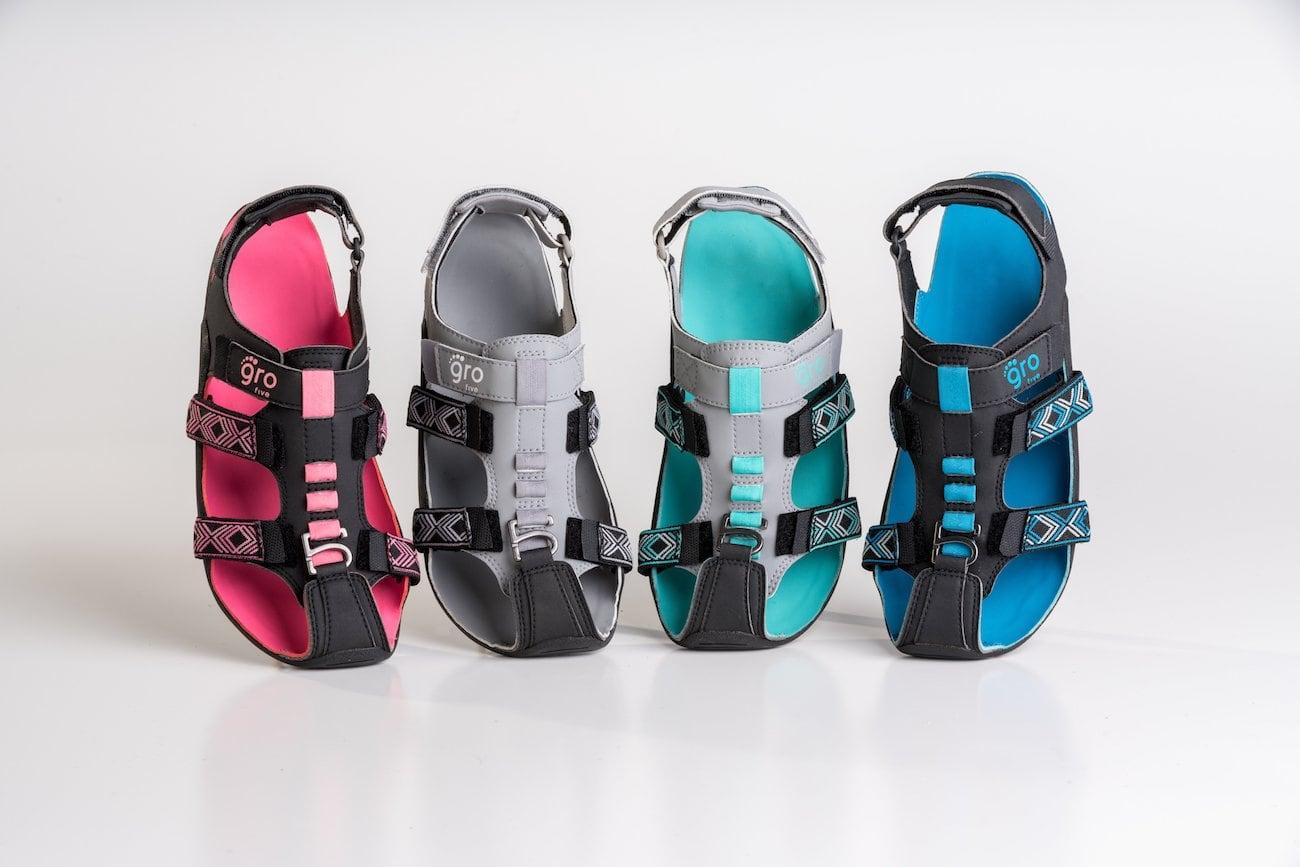 GroFive Expandals Kids Adjustable Footwear