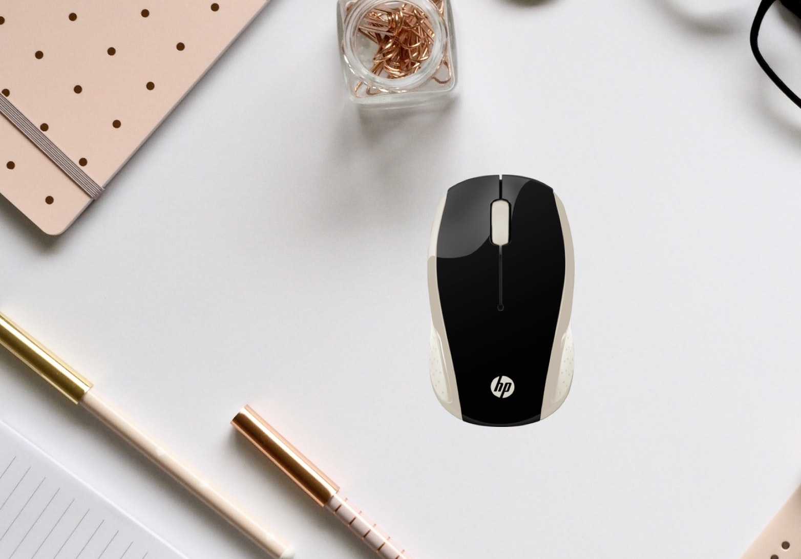 HP 200 Wireless Optical Mouse