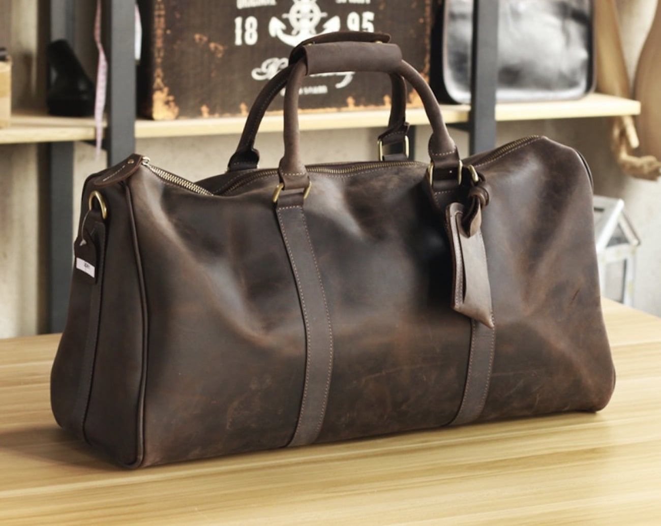 Handmade Leather Men's Bag