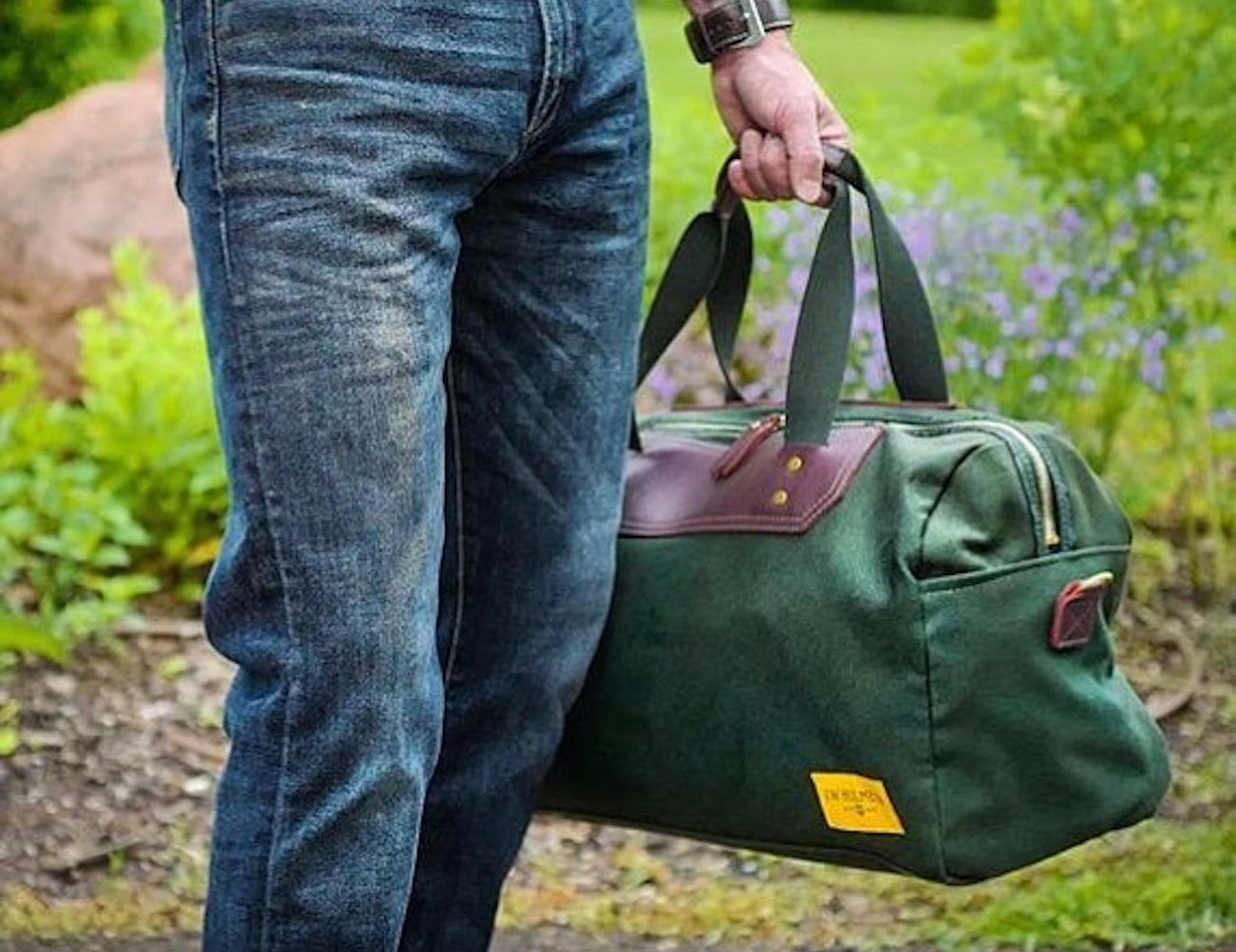 d5a07fa95d ... with the J.W. Hulme Canvas Weekender Duffel. This ideal travel  companion fits all of your essential belongings for a weekend away. In  fact