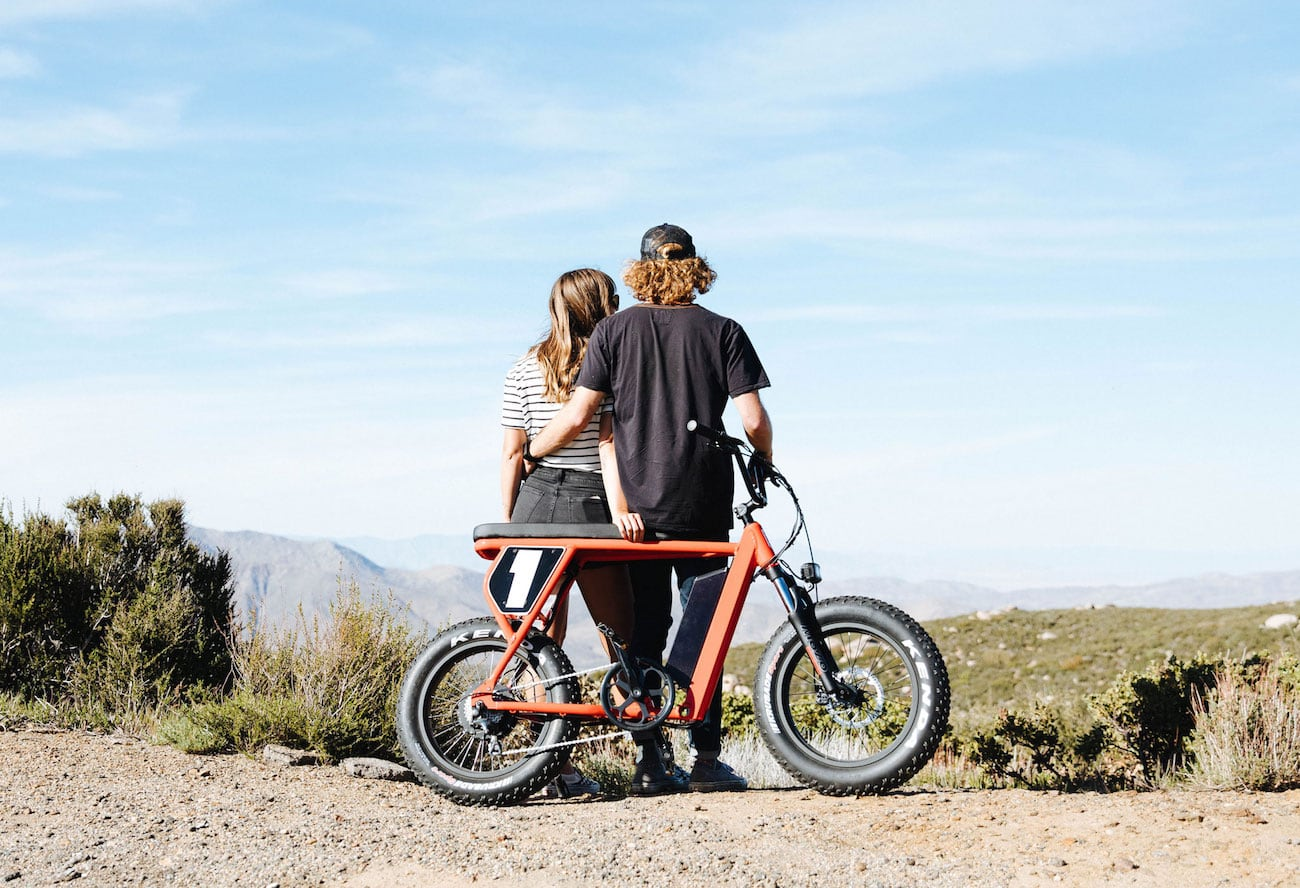 Juiced Bikes Scrambler Style E-Bike