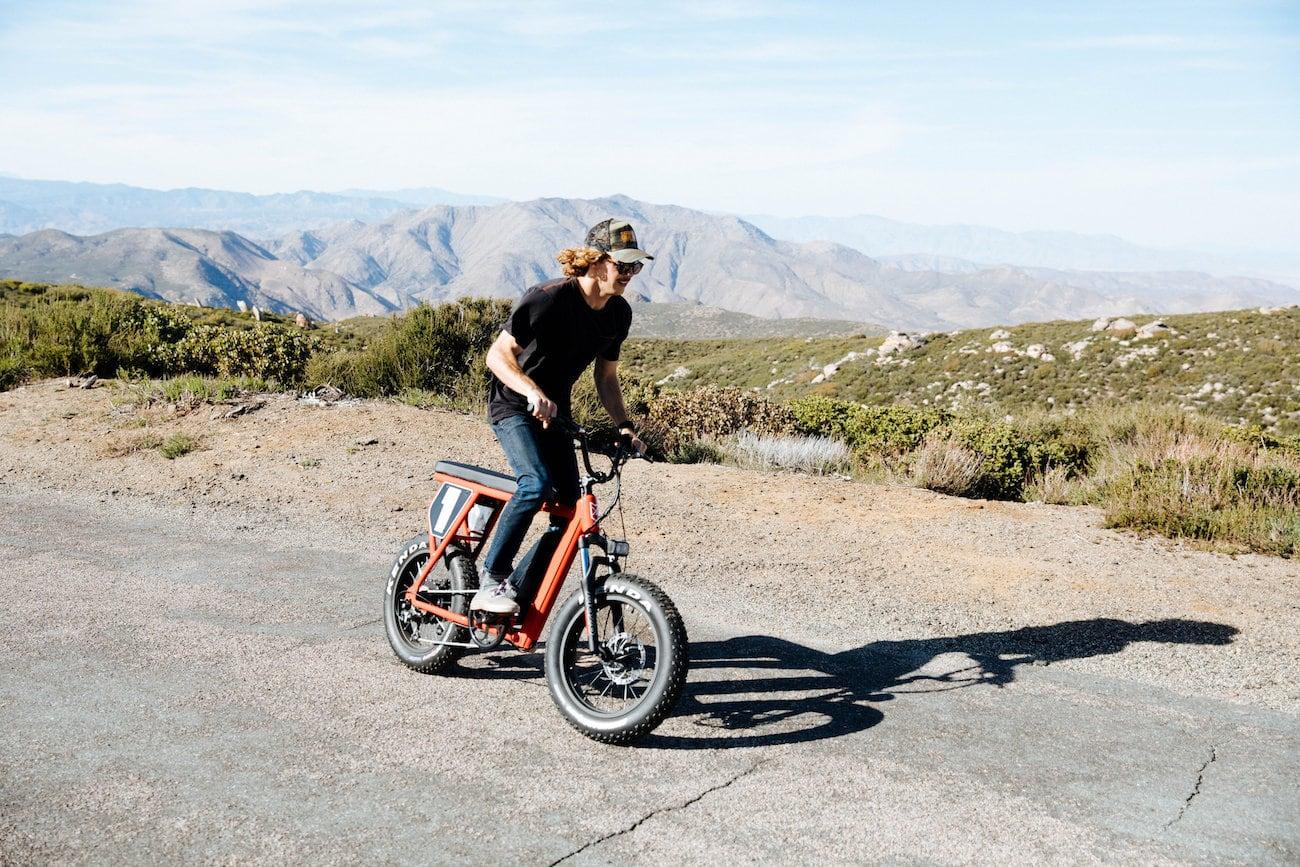 Juiced Bikes Scrambler Style E-Bike
