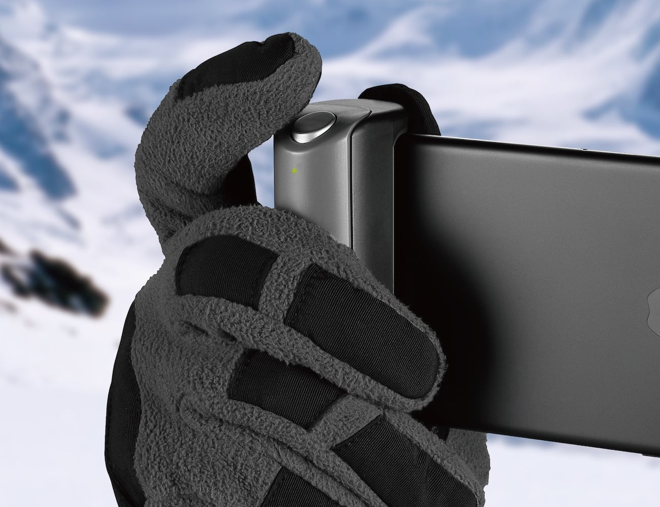 Just Mobile ShutterGrip Grab-and-Go Smartphone Camera Control