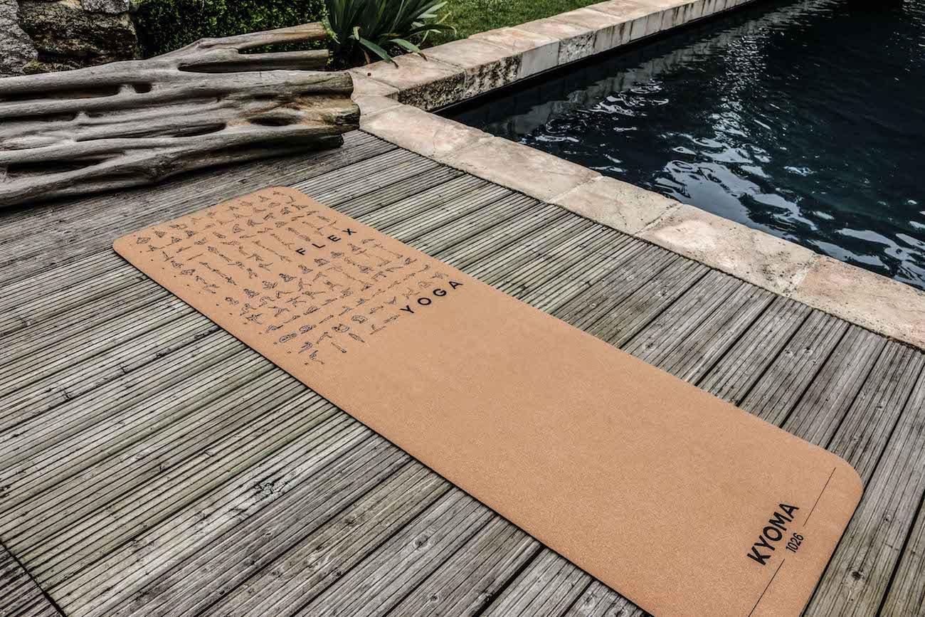 KYOMA Instructional Yoga Mat