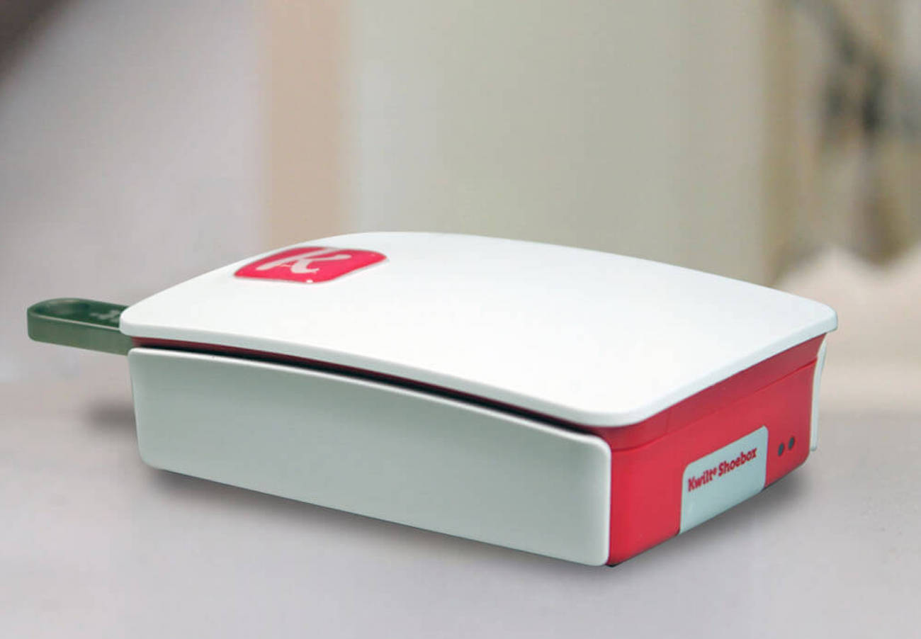 Kwilt Shoebox Plus Unlimited Personal Storage Device