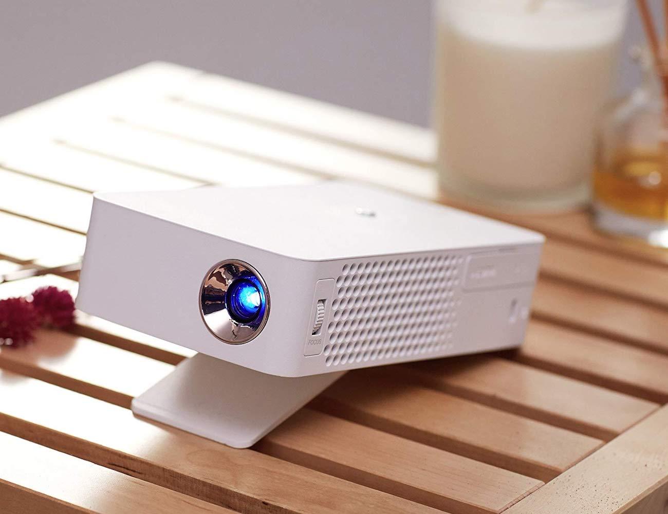 LG HD LED Portable MiniBeam Projector