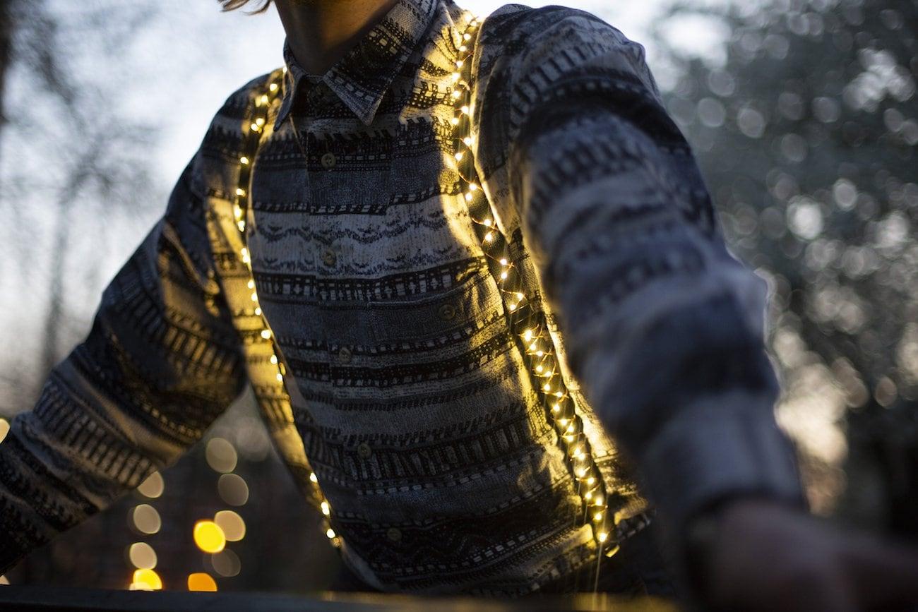 Light House Light Up Suspenders