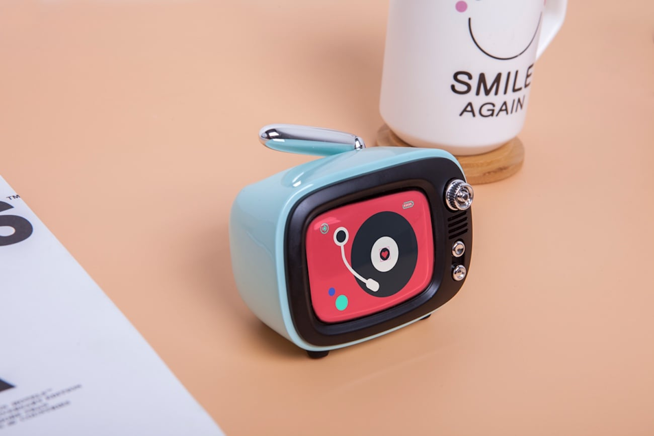 Lofree QTV Nostalgic Wireless Speaker