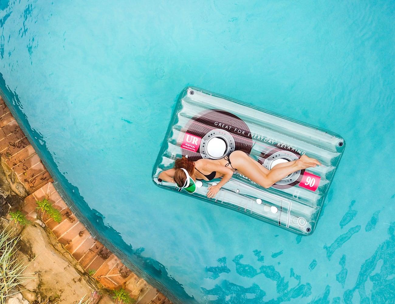 Loteli Classic Cassette Pool Float