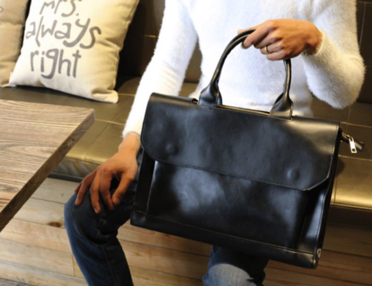 Luxury Vintage Everyday Laptop Bag