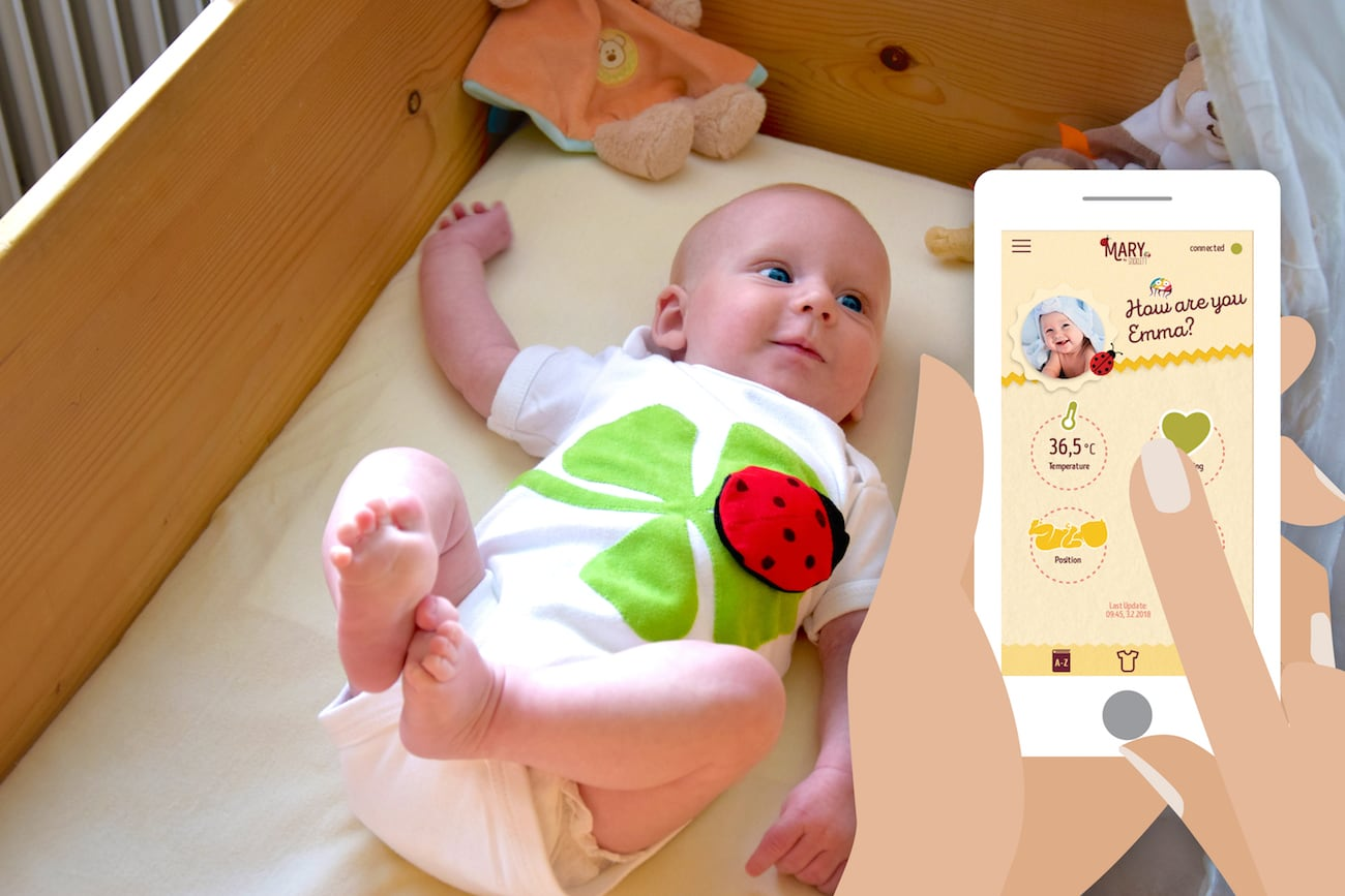 MARY Kids Wearable Vital Monitor