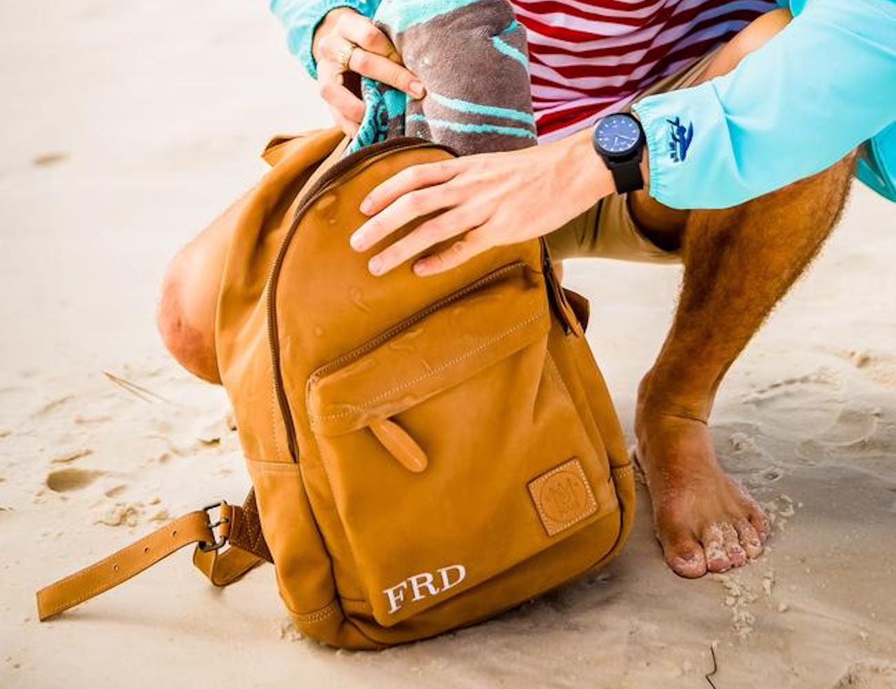 Mahi Leather Handmade Classic Backpack
