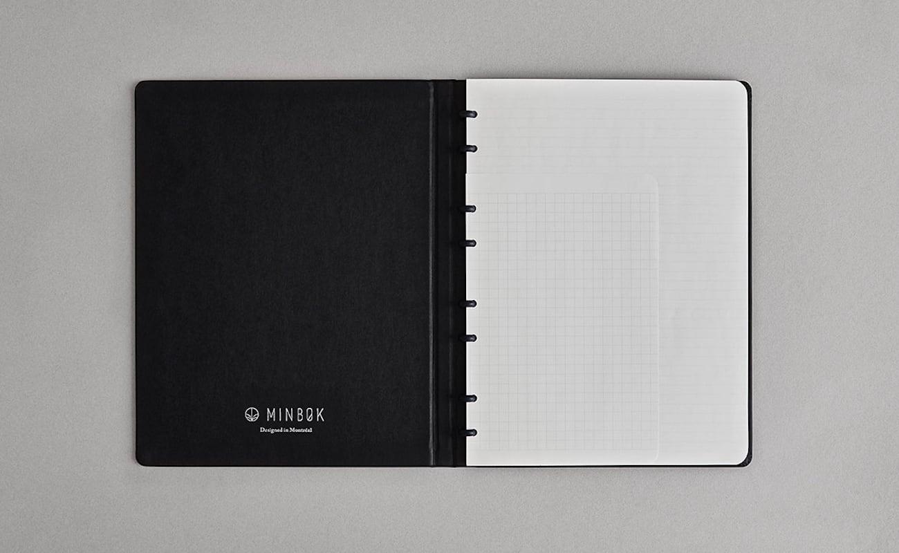 Minbøk Multi-Functional Refillable Notebook
