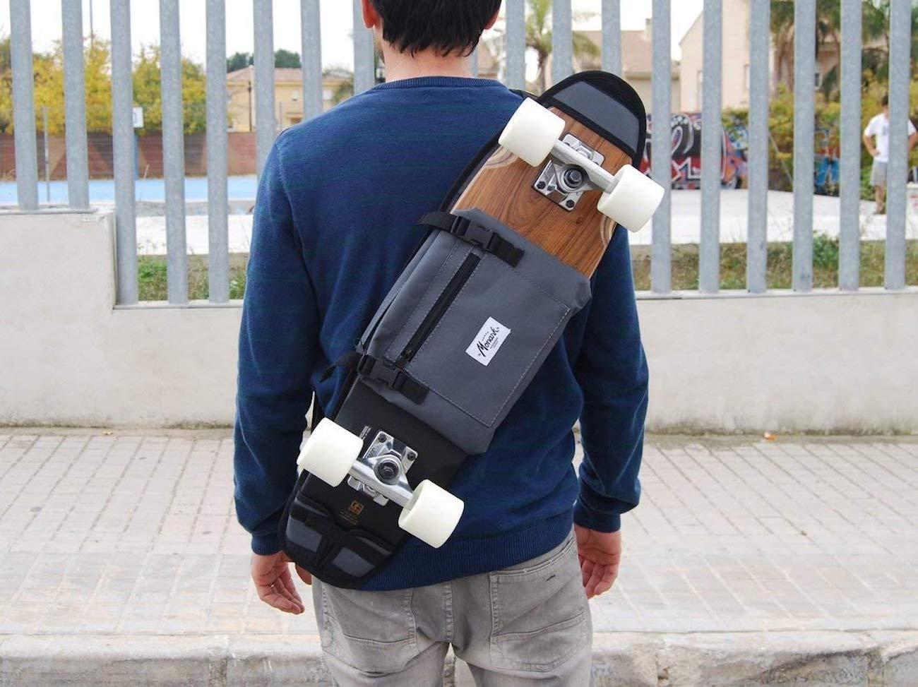 Monark Cruiser Skateboard Backpack