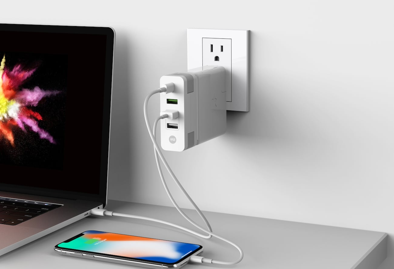 Monitormate M2 Cube MacBook Pro Charger Expansion