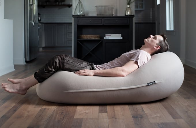 Moon Pod Zero-Gravity Beanbag Chair