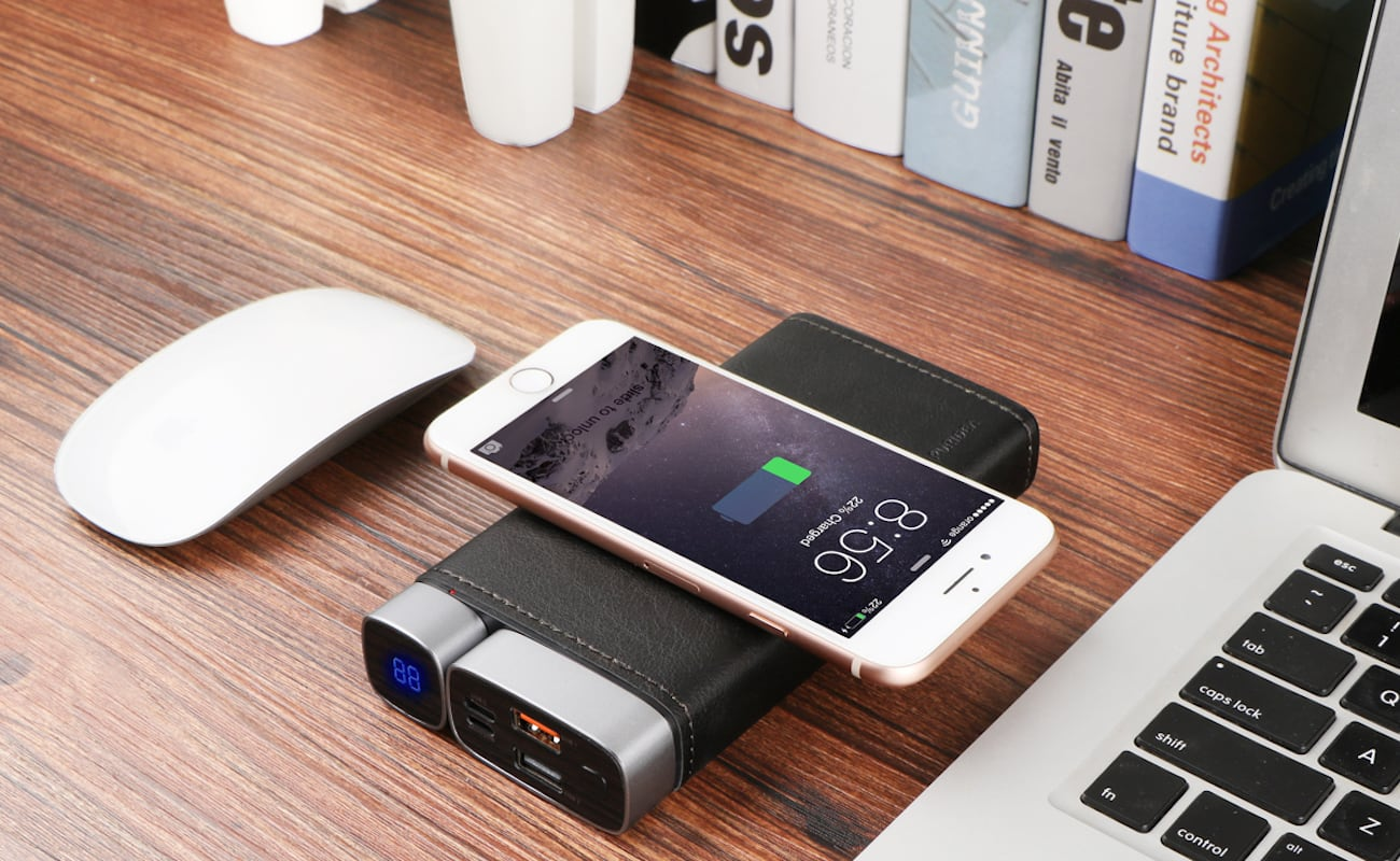 PURIDEA Pro X Wireless Fast Charging Power Bank