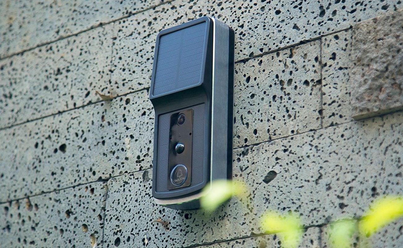 Soliom Solar-Power Wireless Video Doorbell