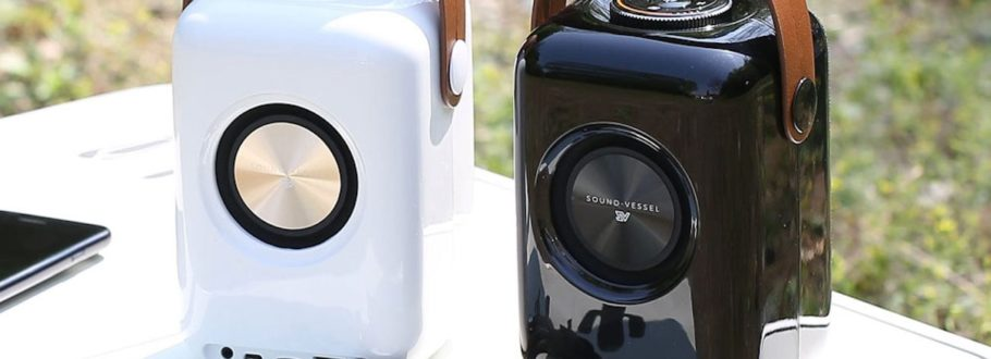 Enjoy smart stereo sound on the move with Sound-vessel