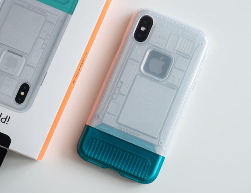 Spigen+Classic+C1+iPhone+Xs+Case