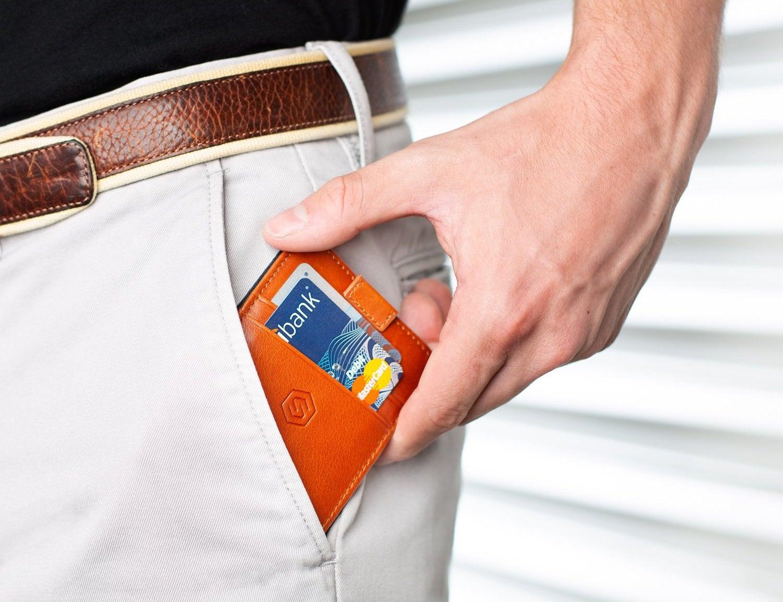Strapo Minimalist Leather Wallet