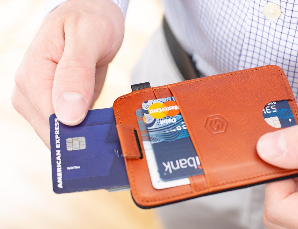 Strapo+Minimalist+Leather+Wallet
