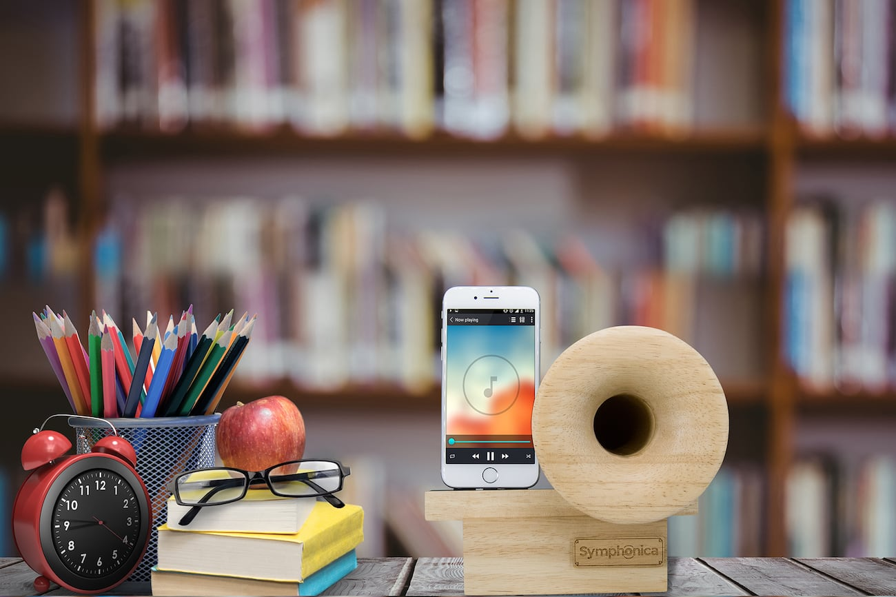 Symphonica Smartphone Acoustic Horn Speaker