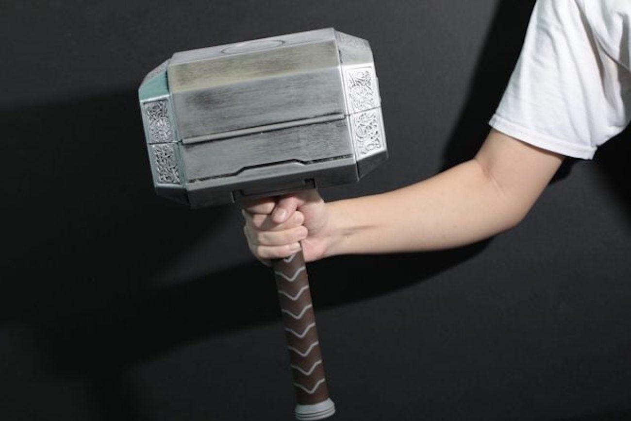 ThinkGeek Marvel Thor Hammer Tool Set loading=