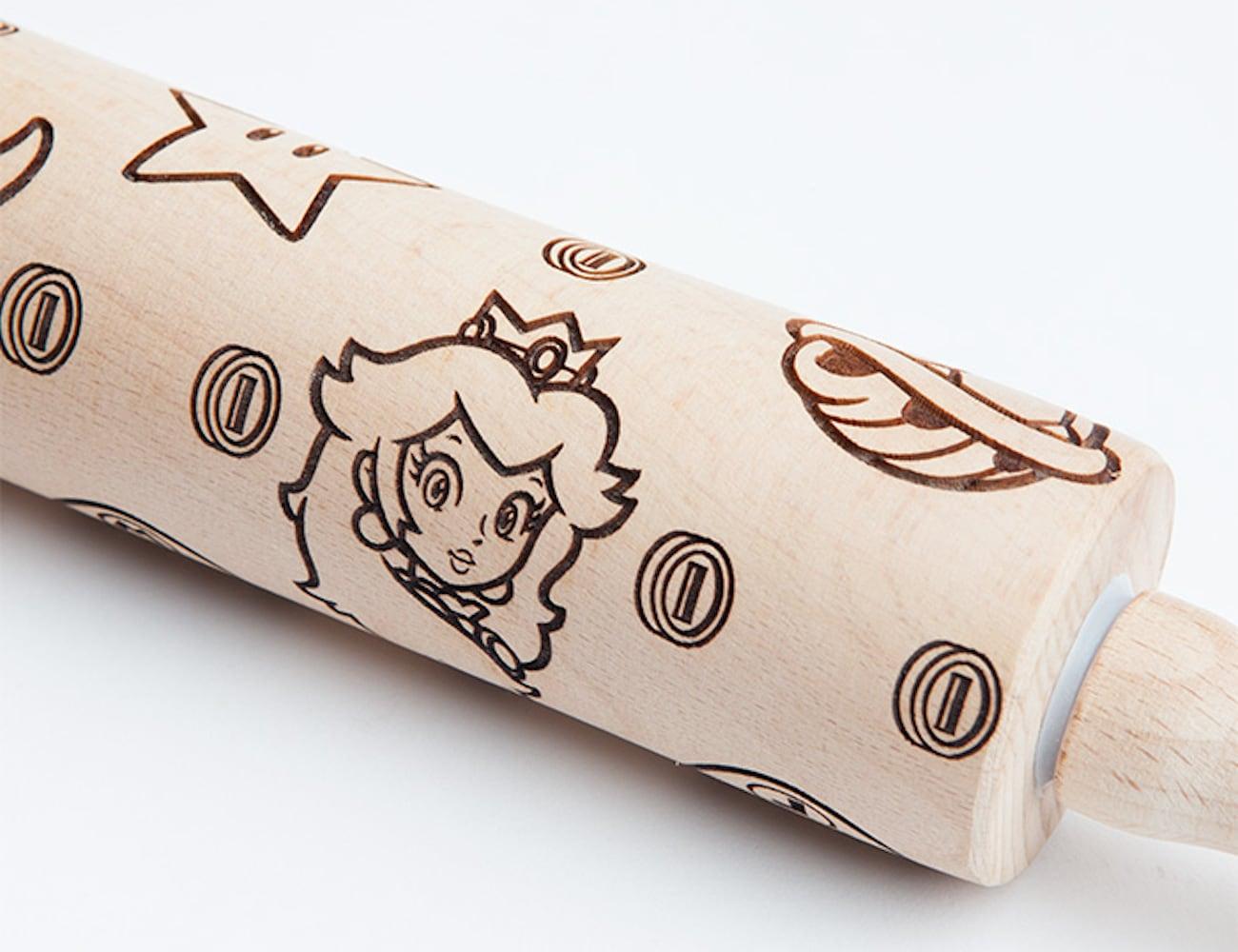 ThinkGeek Super Mario Molded Rolling Pin