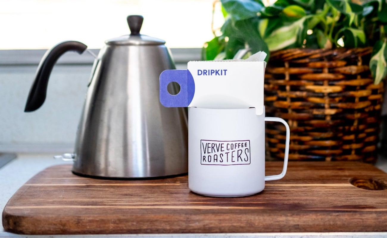 Verve X Dripkit Single Serve Pourover Coffee