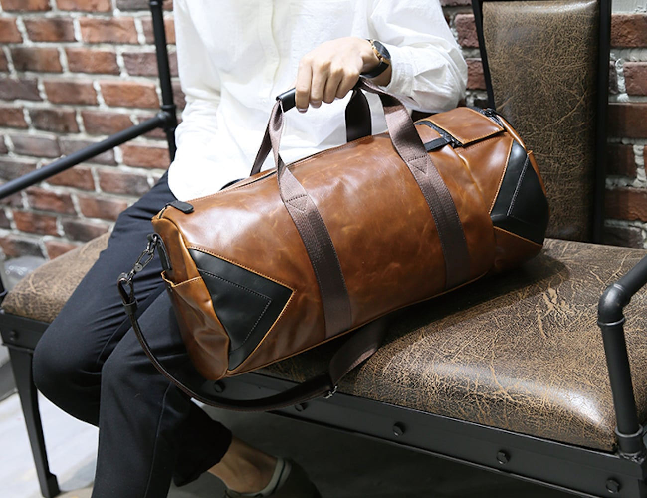 Vintage Style Travel Bag