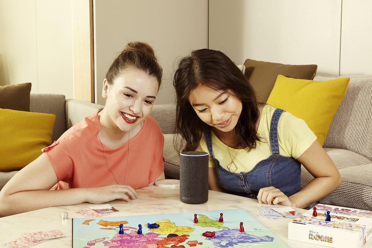 Voice Originals When In Rome Alexa Travel Trivia Game
