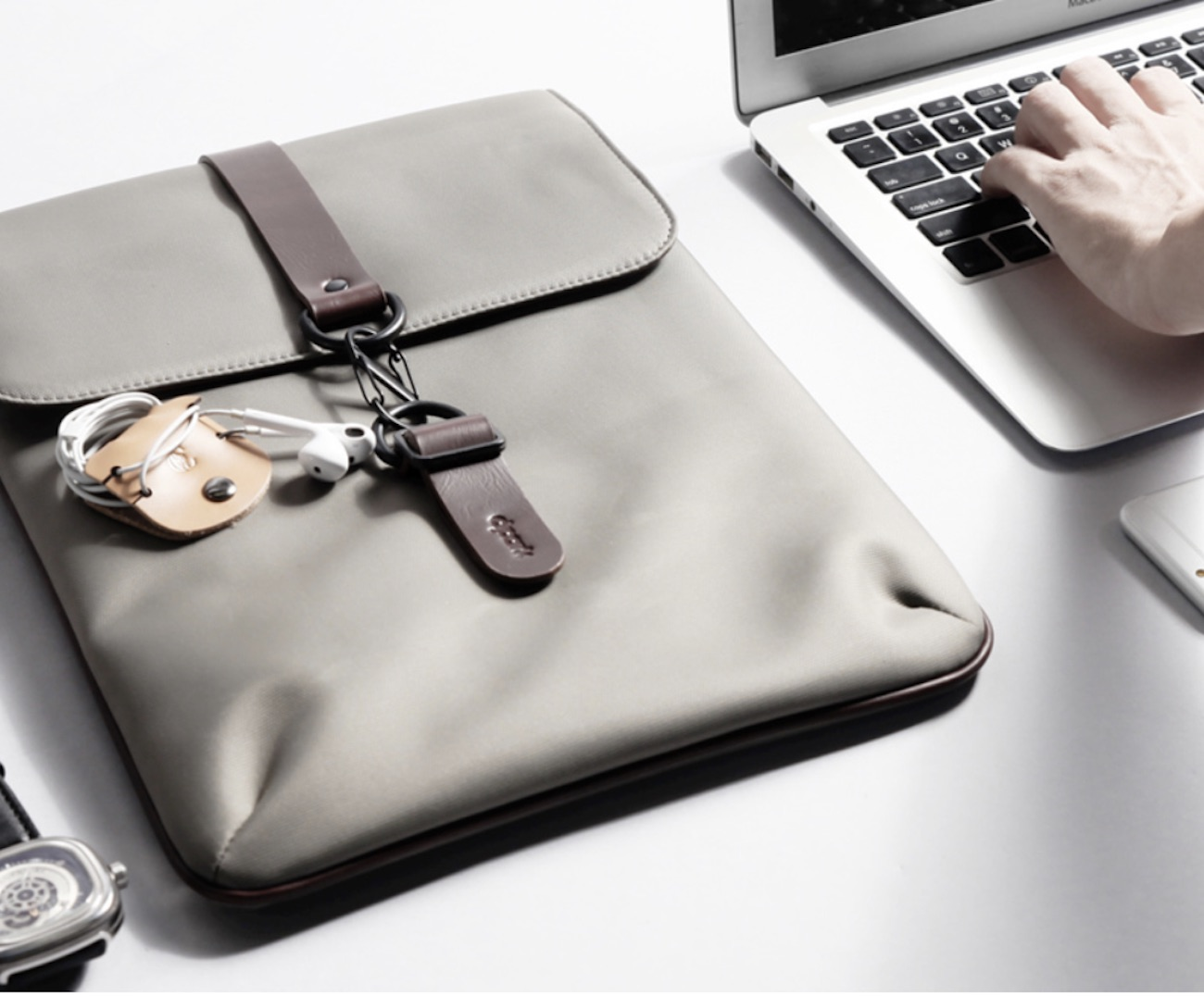 Waterproof Laptop Pouch protects more than just your laptop